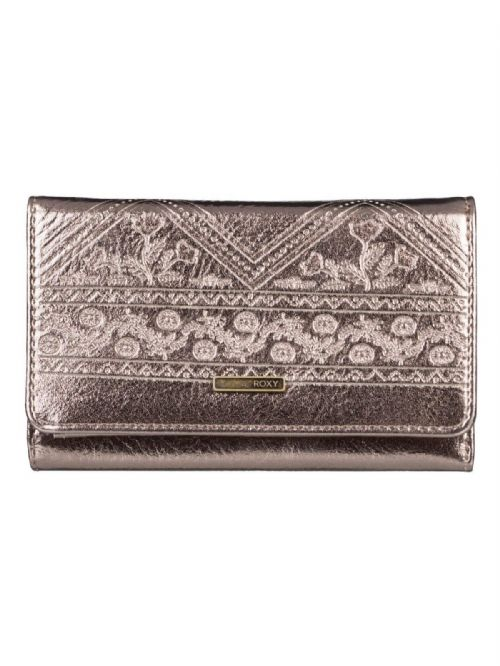 ROXY WOMENS PURSE.NEW JUNO METAL GOLD CREDIT CARD COIN MONEY WALLET 9S 54 MCP0